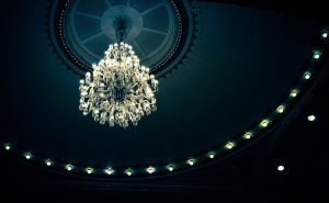 lustre luminaire LED